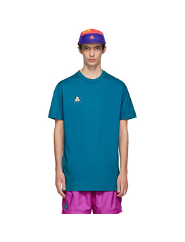 Green Neo Turquoise Volt T Shirt by Nike Acg