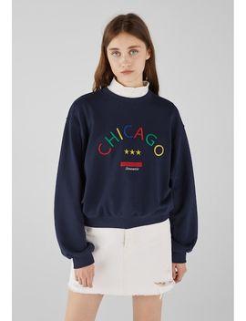 Mit Print    Sweatshirts by Bershka