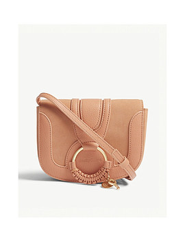 Hanna Leather Cross Body Bag by See By Chloe