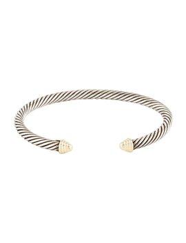 Two Tone Cable Kids Bracelet by David Yurman