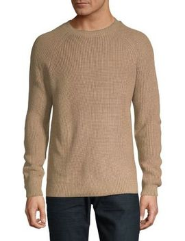 Textured Raglan Sweater by Black Brown 1826