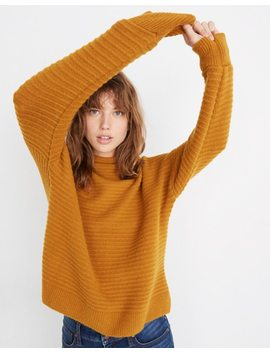 Belmont Mockneck Sweater In Coziest Yarn by Madewell