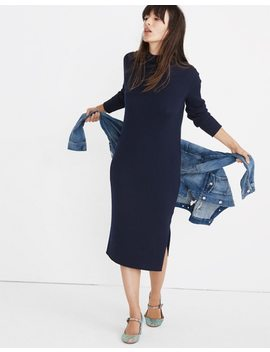 Mockneck Midi Sweater Dress by Madewell