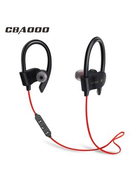 Cbaooo Bluetooth Earphone Wireless Bluetooth Headphone Sport Headset Waterproof Bass With Mic For Android I Phone  by Cbaooo