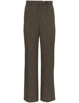 Checked Tailored Trousers by Charm's