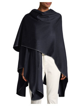 Regina Cashmere Wrap Cape by Loro Piana