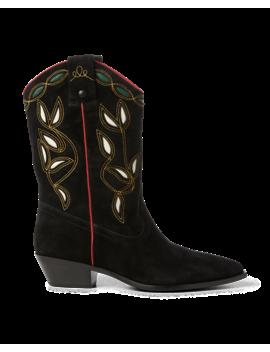Makayla Cowboy Boot by Ralph Lauren