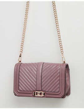 Chevron Quilted Cross Body Bag by Rebecca Minkoff