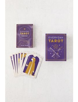Everyday Tarot Mini Tarot Card Deck + Guide Book By Brigit Esselmont by Urban Outfitters