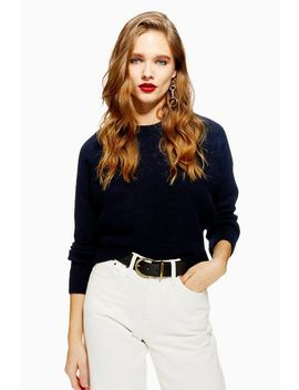 Super Soft Raglan Jumper by Topshop