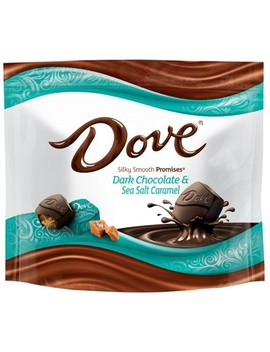Dove Promises Dark Chocolate & Sea Salt Caramel Candies   7.6oz by Dove Chocolate