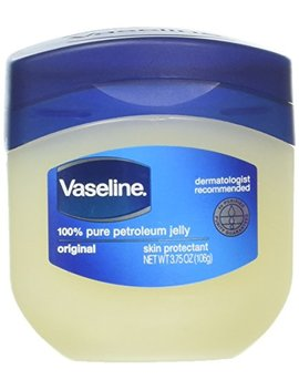 Vaseline 100 Percents Pure Petroleum Jelly Skin Protectant 3.75 Oz (Pack Of 2) by Vaseline