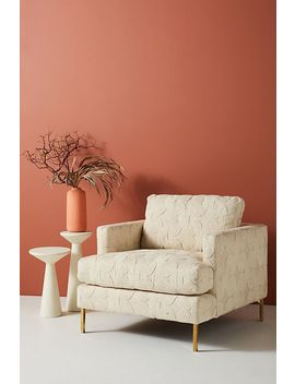 Plush Woven Bowen Chair by Anthropologie