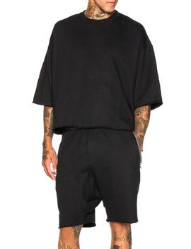 3/4 Sleeve Crewneck Sweatshirt by Fear Of God