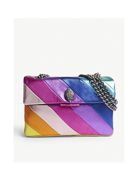 Kensington Multi Coloured Leather Shoulder Bag by Kurt Geiger London