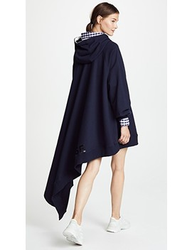 Hero Cape Hoodie by Monse