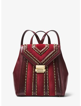 Whitney Mixed Media Backpack by Michael Michael Kors