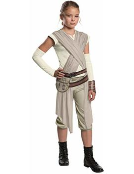 Star Wars: The Force Awakens Child's Deluxe Rey Costume, Small by Rubie's