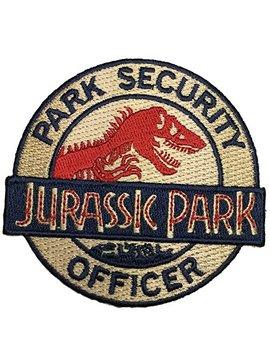 Patch Squad Men's Jurassic Park Security Ranger Logo Patch by Patch Squad