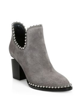 Gabi Suede Ankle Boots by Alexander Wang