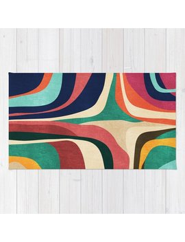 Impossible Contour Map Rug by