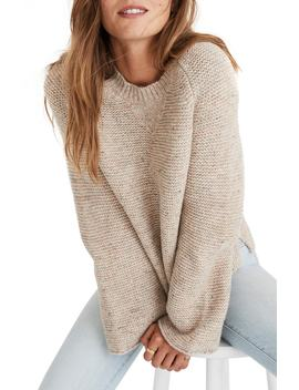 Flecked Wide Sleeve Sweater by Madewell