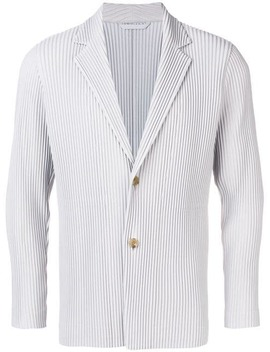 Pleated Single Breasted Blazer by Homme Plissé Issey Miyake