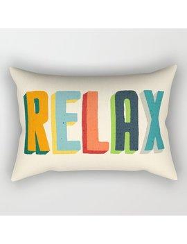 Relax Rectangular Pillow by