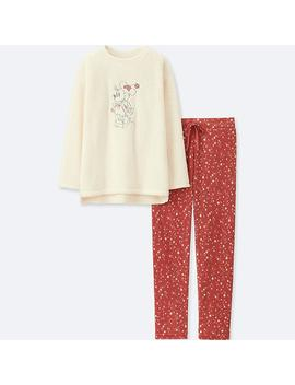 Women Disney Fleece Set Long Sleeve by Uniqlo