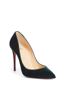 Pigalle Follies Pointed Toe Pump by Christian Louboutin