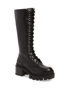Plasma Lugged Platform Boot by Jeffrey Campbell