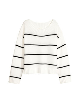 Knitted Sweater by H&M