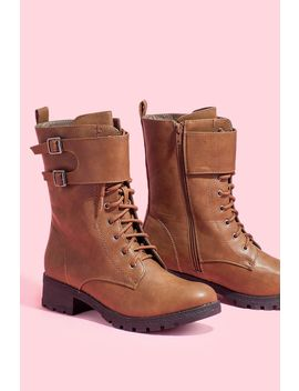 double-buckle-combat-boot by agaci