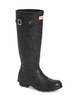 Original Knee High Rain Boot by Hunter