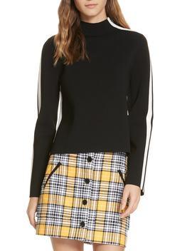 Retha Side Stripe Sweater by Veronica Beard