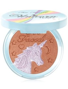 Unicorn Tears Iridescent Mystical Bronzer by Too Faced
