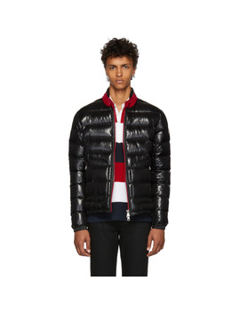 Black Down Aubert Jacket by Moncler