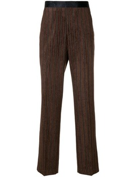 Striped Corduroy Trousers by Our Legacy