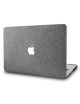 Kecc Mac Book Air 13 Inch Case Plastic Hard Shell Cover A1466 / A1369 (Grey Sparkling) by Kecc