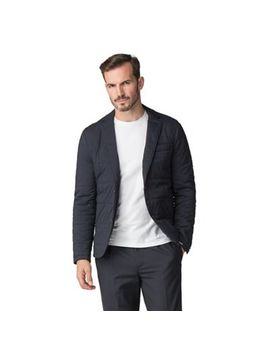 Jeff Banks   Atelier By Jeff Banks Navy Quilted Jacket by Jeff Banks