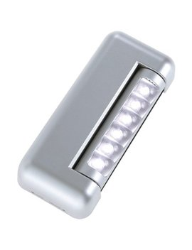 Fulcrum 6 Led Rectangular Tap Light by Light It!