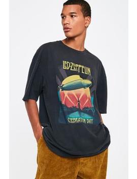 Long Gone Led Zeppelin Black T Shirt by Long Gone