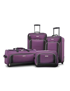 American Tourister Fieldbrook Xlt 4 Piece Luggage Set by American Tourister