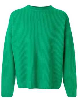 Crew Neck Wool Oversize Sweater by Ami Alexandre Mattiussi