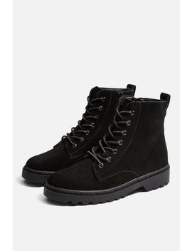 Blake Lace Up Boots by Topshop