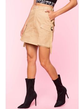 Kennedy Twill Mini Skirt by A'gaci