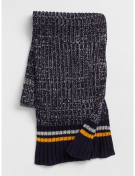 Marled Colorblock Scarf by Gap