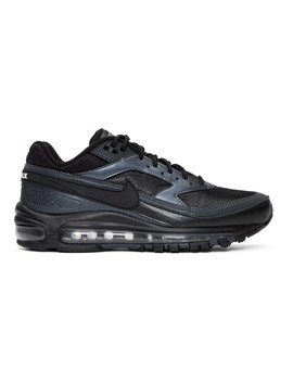 Black Air Max 97/Bw Sneakers by Nike