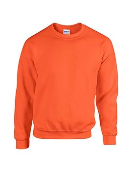 Gildan 50/50 Adult Crew Neck Super Soft Plain Sweatshirt by Gildan
