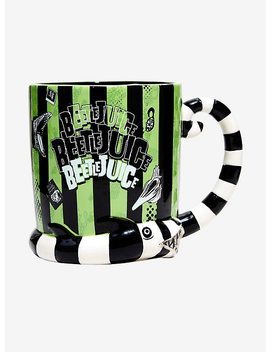 Beetlejuice Sandworm Mug by Hot Topic